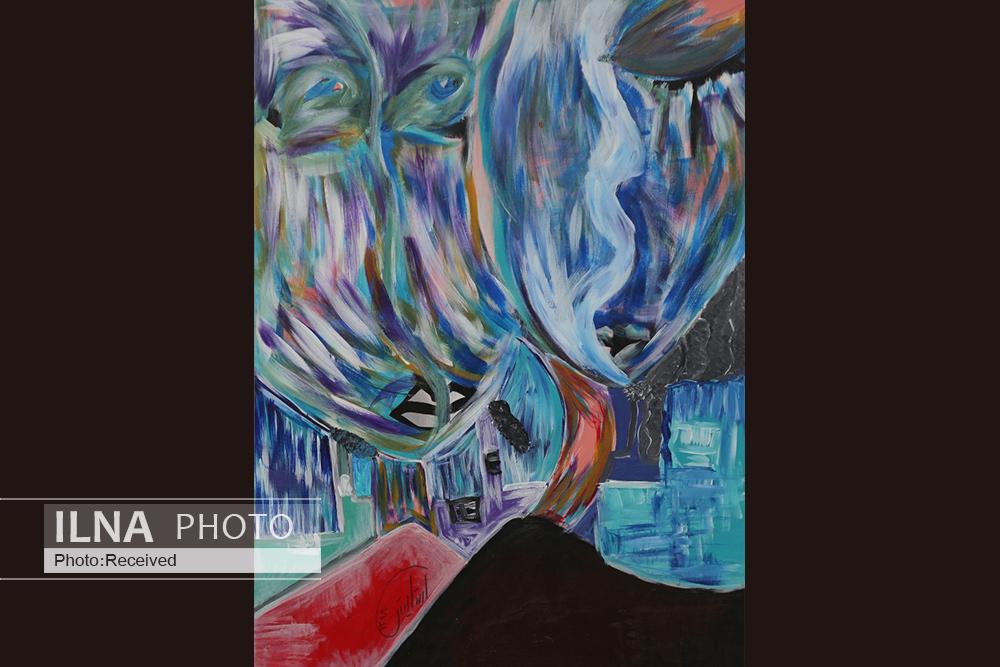 نمایشگاه نقاشی هنرمند اوتیسمی