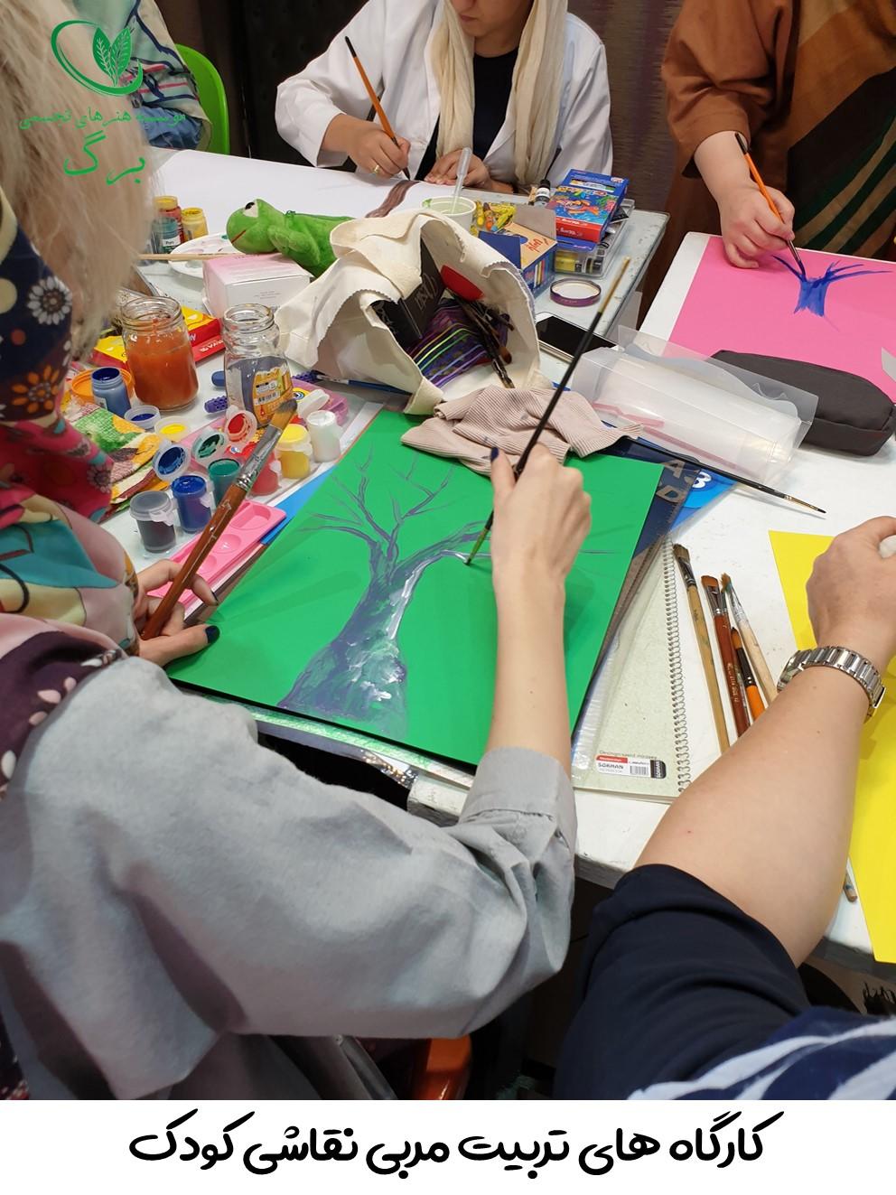 تکنیک های نقاشی کودکان