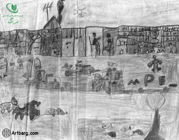 وسواس در نقاشی کودک